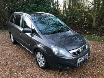 Vauxhall Zafira 1.7 CDTi ecoFLEX 16v Design 5dr (nav)