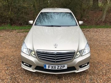 Mercedes-Benz E Class 2.1 E220 CDI BlueEFFICIENCY Sport 4dr