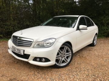 Mercedes-Benz C Class 2.1 C200 CDI BlueEFFICIENCY SE Edition 125 4dr