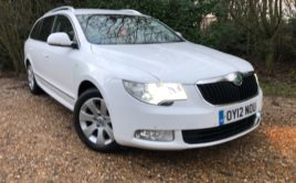 SKODA Superb (2012) 1.6 TDI Greenline CR Elegance 5dr