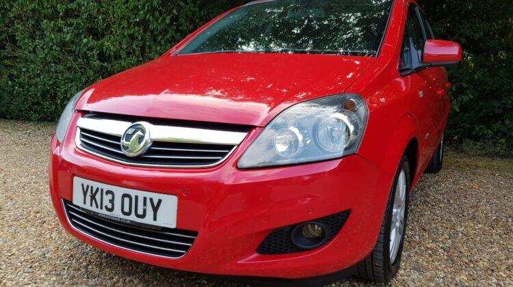 Vauxhall Zafira 1.8 i VVT 16v Design 5dr