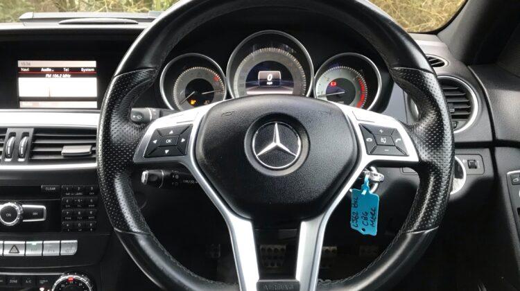 Mercedes-Benz C Class 2.1 C220 CDI BlueEFFICIENCY AMG Sport 4dr
